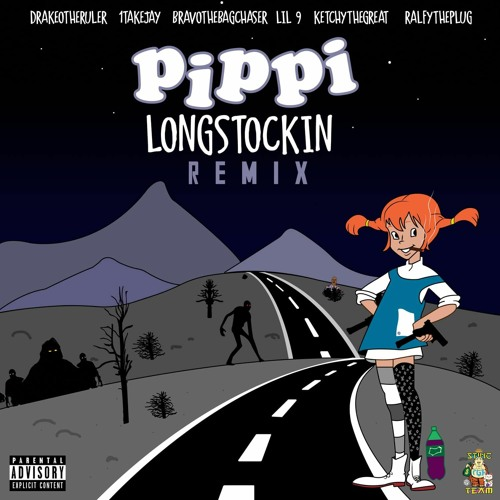 "Drakeo The Ruler – ""Pippy LongStockin"" Remix Feat. 1TakeJay, BravoThe Bagchaser, and Lil 9"