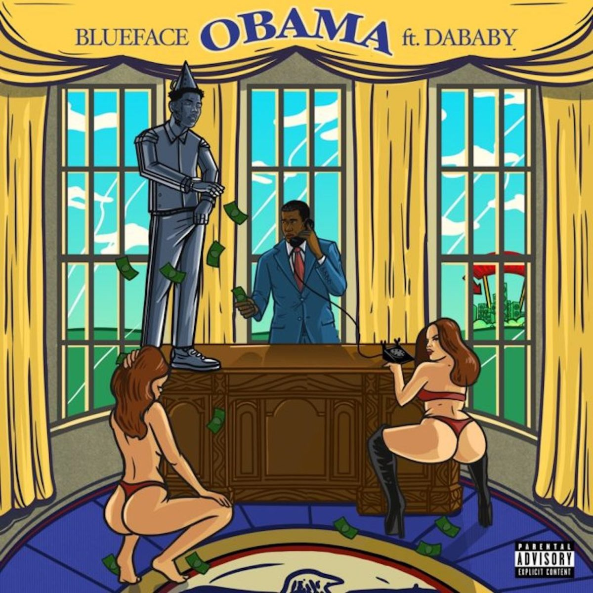 "Blueface – ""Obama"" Feat. DaBaby"