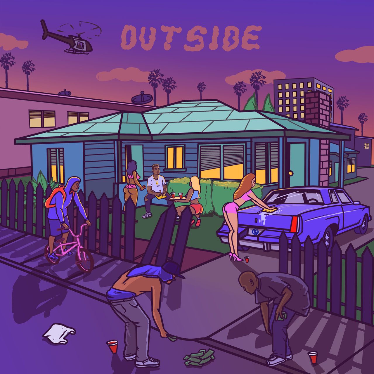 Bino Rideaux Releases His New Mixtape, 'Outside'