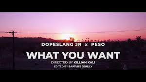 "DopeSlang Jr & RappinAssPeso Freestyle Over ""What You Want"" (Visual)"