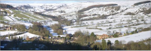 Rosedale Abbey, looking towards Northdale