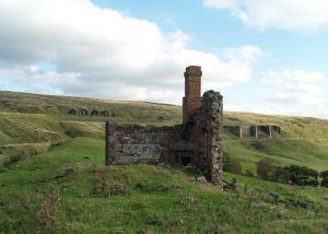 Black House ruins, East Mines