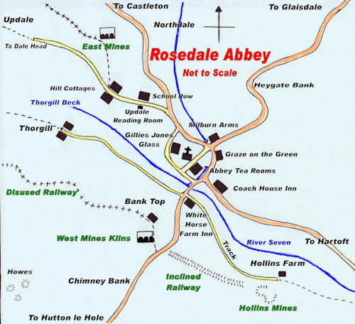 Rosedale Sketch Map