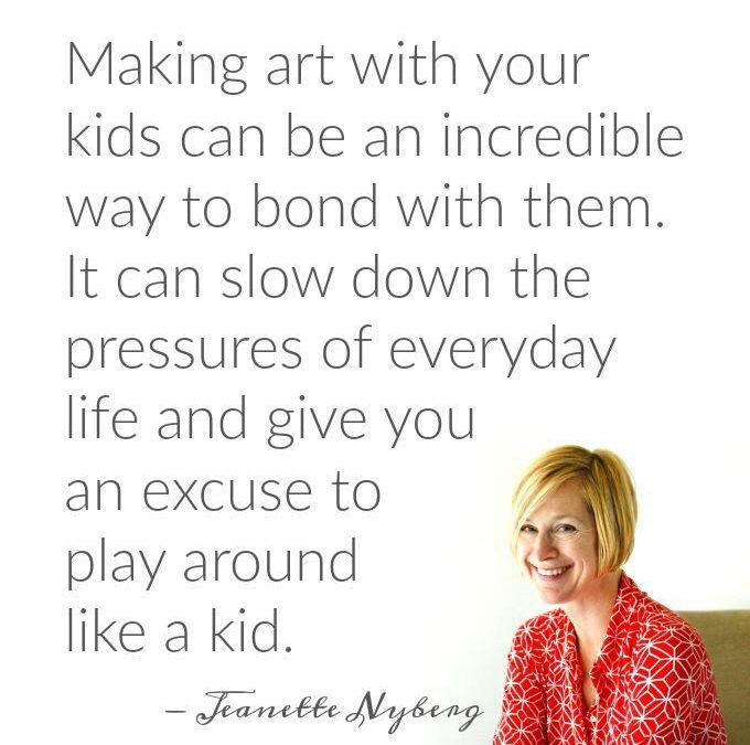 Express yourself and your children will follow