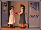 Awarding of plaques of appreciation