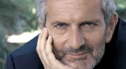 a photograph of author Gianrico Carofiglio