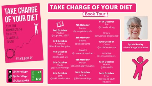 Take Charge of Your Diet Blog Tour Poster