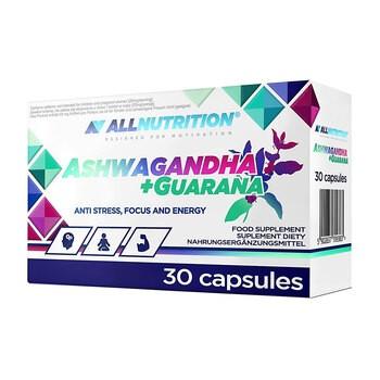 Allnutrition Ashwagandha Guarana Kapseln 30 Stueck