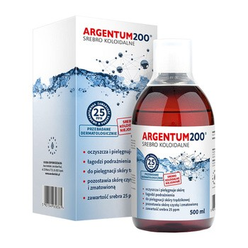 Argentum 200 kolloidales Silber Tonic 500 ml