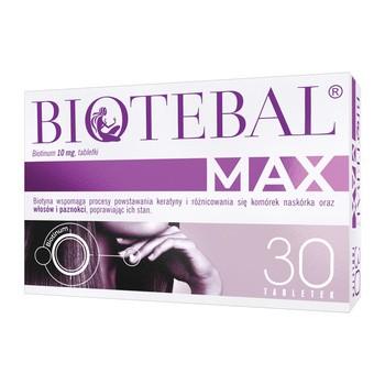 Biotebal Max 10 mg Tabletten 30 Stueck