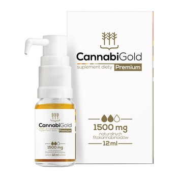 CannabiGold Premium 1500 mg Tropfen 12 ml