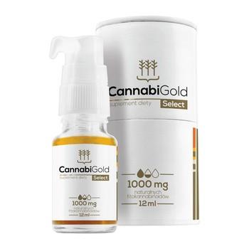 CannabiGold Select 1000 mg Tropfen 12 ml