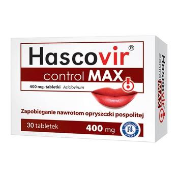 Hascovir control MAX 400 mg Tabletten 30 Stueck