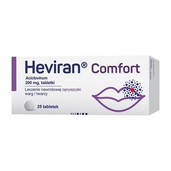 Heviran Comfort 200 mg Tabletten 25 Stueck