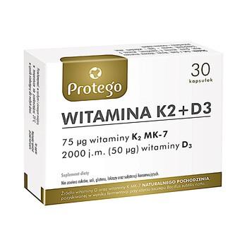 Protego Vitamin K2 D3 flexible Kapseln 30 Stueck