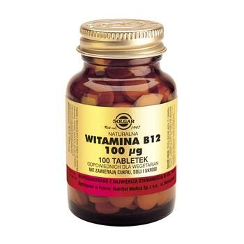 Solgar Vitamin B12 Tabletten 100 Stueck