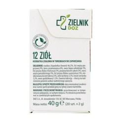ZIELNIK DOZ 12 Kraeuter Kraeutertee 2 g 20 Stk. Limitierte Auflage1