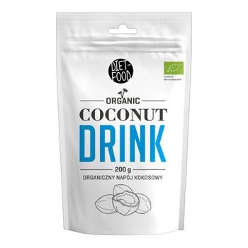 Diät Food, Bio Kokos Getränkepulver, 200 g