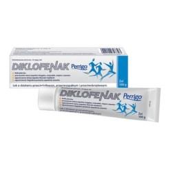 Diclofenac Perrigo, 10 mg g, Gel, 100 g