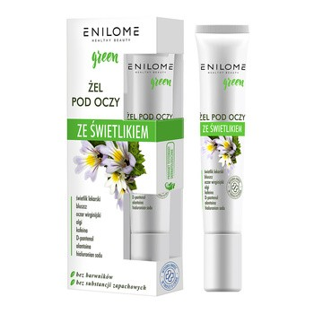 Enilome Healthy Beauty Green, Augenglühgel, 15 ml