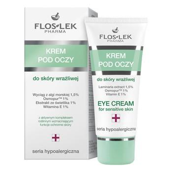 FlosLek Pharma, Hypoallergenic Series, Augencreme für empfindliche Haut, 30 ml