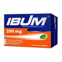 Ibum, 200 mg, flexible Kapseln, 60 Stück
