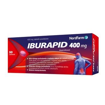 Iburapid, 400 mg, Filmtabletten, 50 Stück