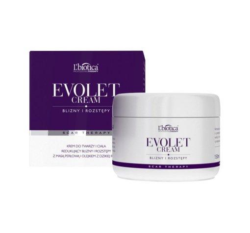 L Biotica Evolet Creme, Creme für Narben und Dehnungsstreifen, 150 ml