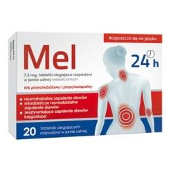 Mel 7,5 mg Schmelztabletten, 20 Stk.