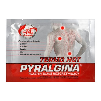 Pyralgina Termo Hot, stark wärmendes Pflaster, 1 Stk.