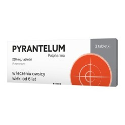 Pyrantelum Polpharma, 250 mg, Tabletten, 3 Stk.
