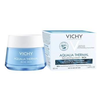 Vichy Aqualia Thermal Rich, Feuchtigkeitscreme, reichhaltig, 50 ml