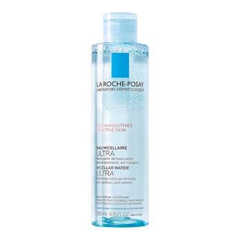 La Roche-Posay Eau Micellaire, Ultra Mizellenwasser, Reaktive Haut, 200 ml