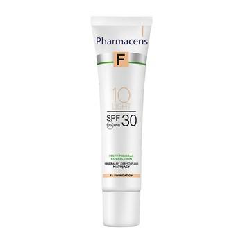 Pharmaceris F, mineralisch mattierendes Dermofluid SPF 30, 10 Light, 30 ml