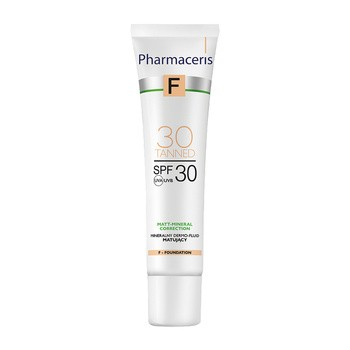 Pharmaceris F, mineralisch mattierendes Dermofluid SPF 30, 30 Gegerbt, 30 ml