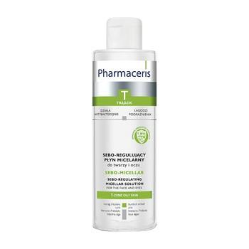Pharmaceris T Sebo-Micellar, antibakterielles Mizellenwasser für Gesicht und Augen, 200 ml