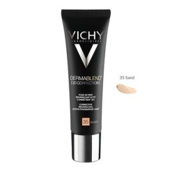 Vichy Dermablend 3D, Skin Leveling Foundation, 35 Sand, 30 ml