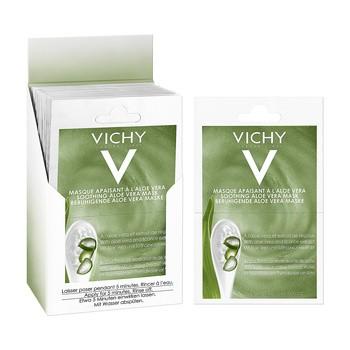 Vichy Masque, beruhigende Maske mit Aloe, 6 ml, 2 Beutel