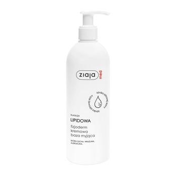 Ziaja Med Lipid Treatment Fizjoderm, cremige Waschgrundlage, sehr empfindliche Haut, allergisch, 400 ml