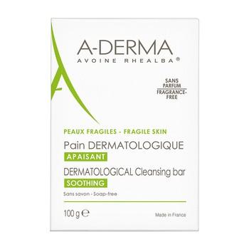Aderma, reinigender dermatologischer Riegel mit Haferextrakt, 100 g