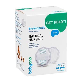 Baby Ono, Natural Nursing weiße Stilleinlagen, 24 Stück