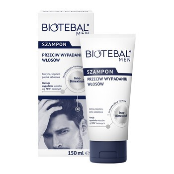 Biotebal Men, Anti-Haarausfall Shampoo, 150 ml