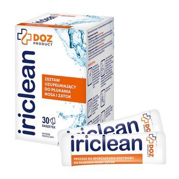 DOZ PRODUCT Iriclean, Ergänzungsset zur Nasen- und Nebenhöhlenspülung, 30 Beutel