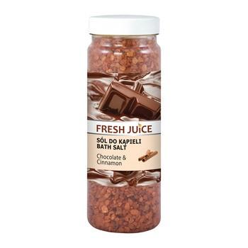 Frischer Saft, Badesalz, Schokolade Zimt, 700 g