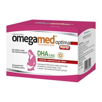 Omegamed Optima Forte, Kapseln, 90 DHA + Optima, Tabletten, 30