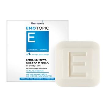 Pharmaceris E Emotopic, erweichender Waschriegel für Gesicht und Körper, 100 g