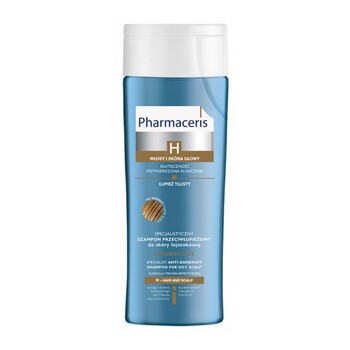 Pharmaceris H-Purin Oily, spezielles Anti-Schuppen-Shampoo, fettige Schuppen, 250 ml
