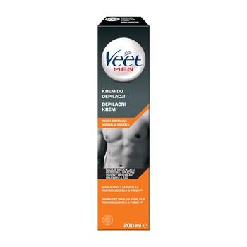 Veet Men, Enthaarungscreme für Männer, normale Haut, 200 ml