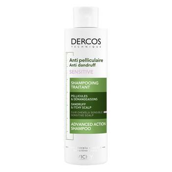 Vichy Dercos, Anti Schuppen Shampoo, empfindliche Haut, 200 ml
