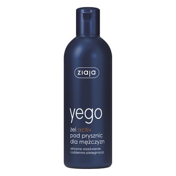 Ziaja Yego Activ, Duschgel für Männer, 300 ml